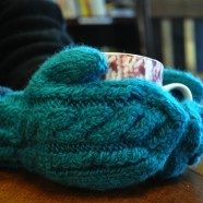 Spotlight: Cabled Mittens