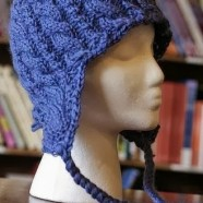 Cabled Earflap Hat–Now on Ravelry