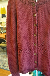 Zinnia in Sweater